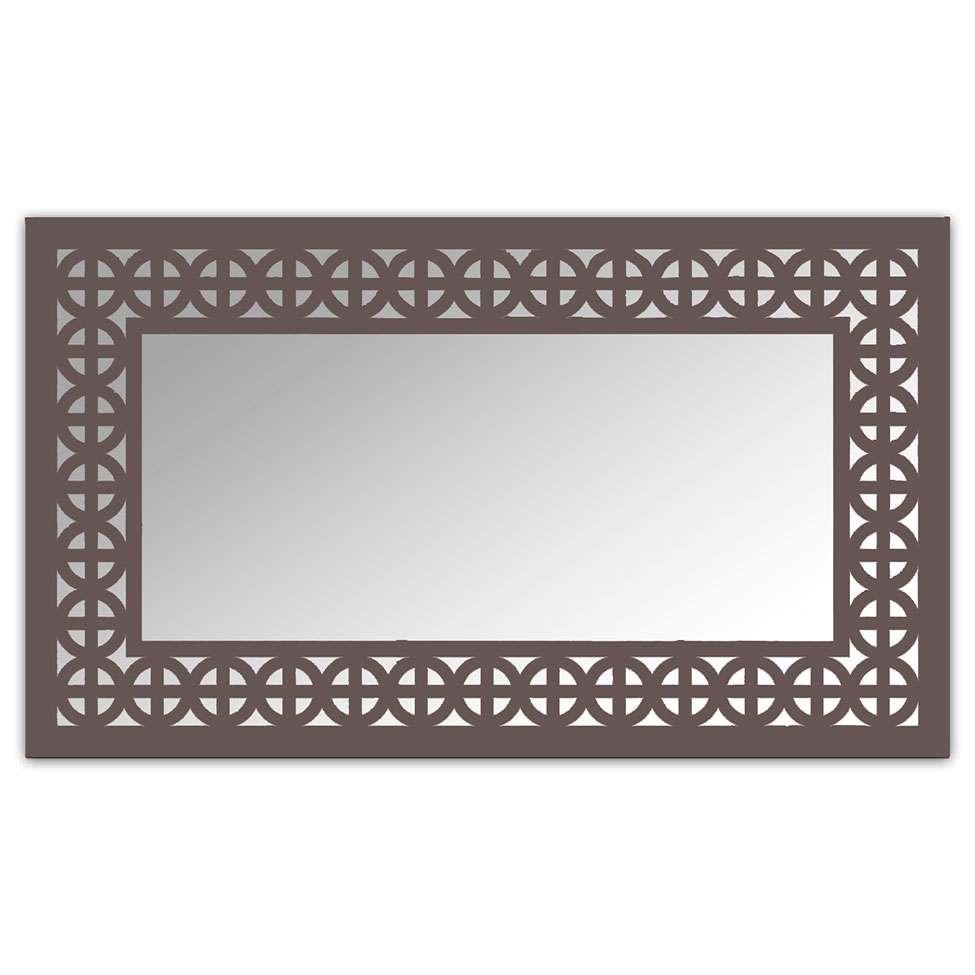 d8e41a5b2 Espelho De Parede 12880I Marrom 70x110 Art Shop