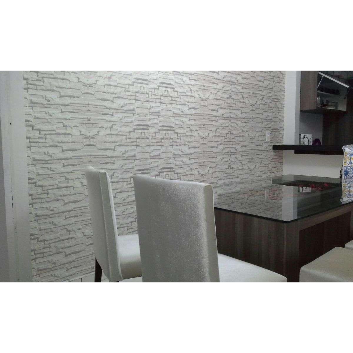 887109c21 Papel de Parede Pedra Branca Filete Canjiquinha