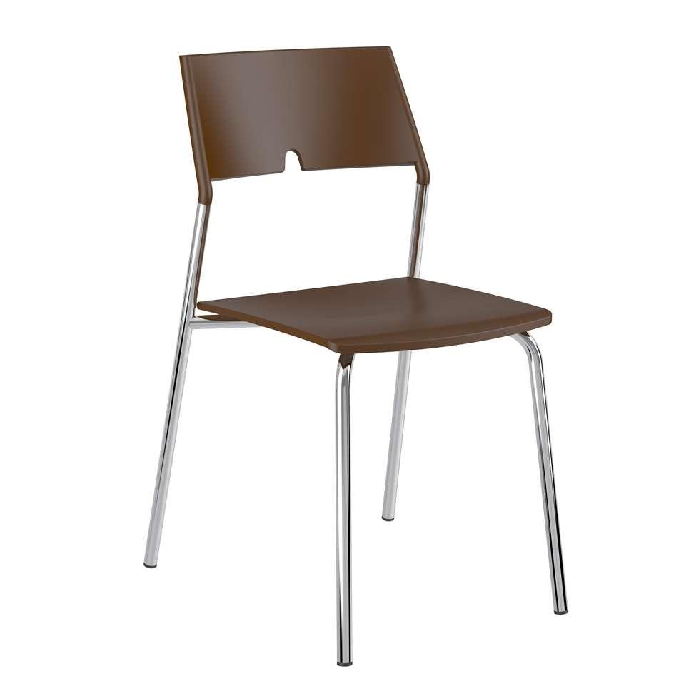 Conjunto 4 Cadeiras de Cozinha 1711 Cacau adf890fc0b