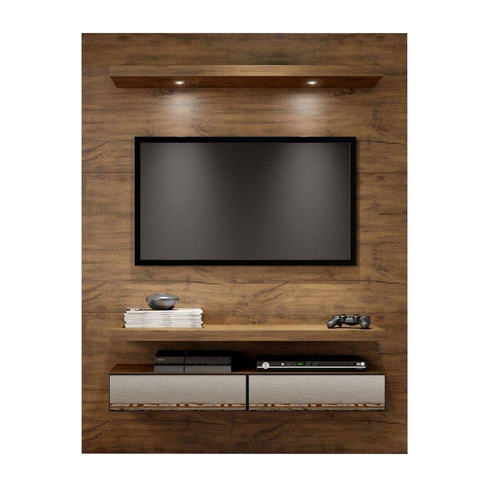 painel para tv 60 polegadas thor nobre 140 cm. Black Bedroom Furniture Sets. Home Design Ideas
