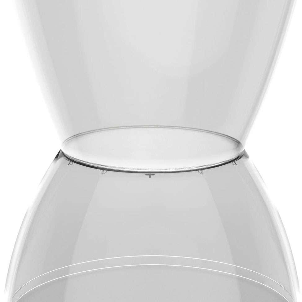 Banco argo policarbonato cristal i 39 m in - Cristal policarbonato ...
