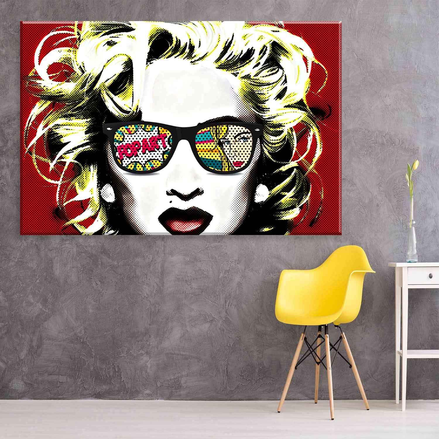 38d584307 Tela Decorativa em Canvas Mari Pop