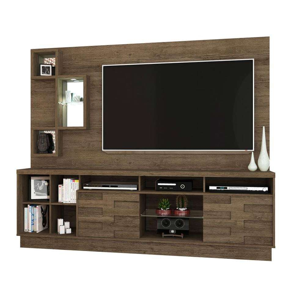 Home Theater O Cinema Na Sua Casa: Estante Para Home Theater Heitor Rijo 220 Cm