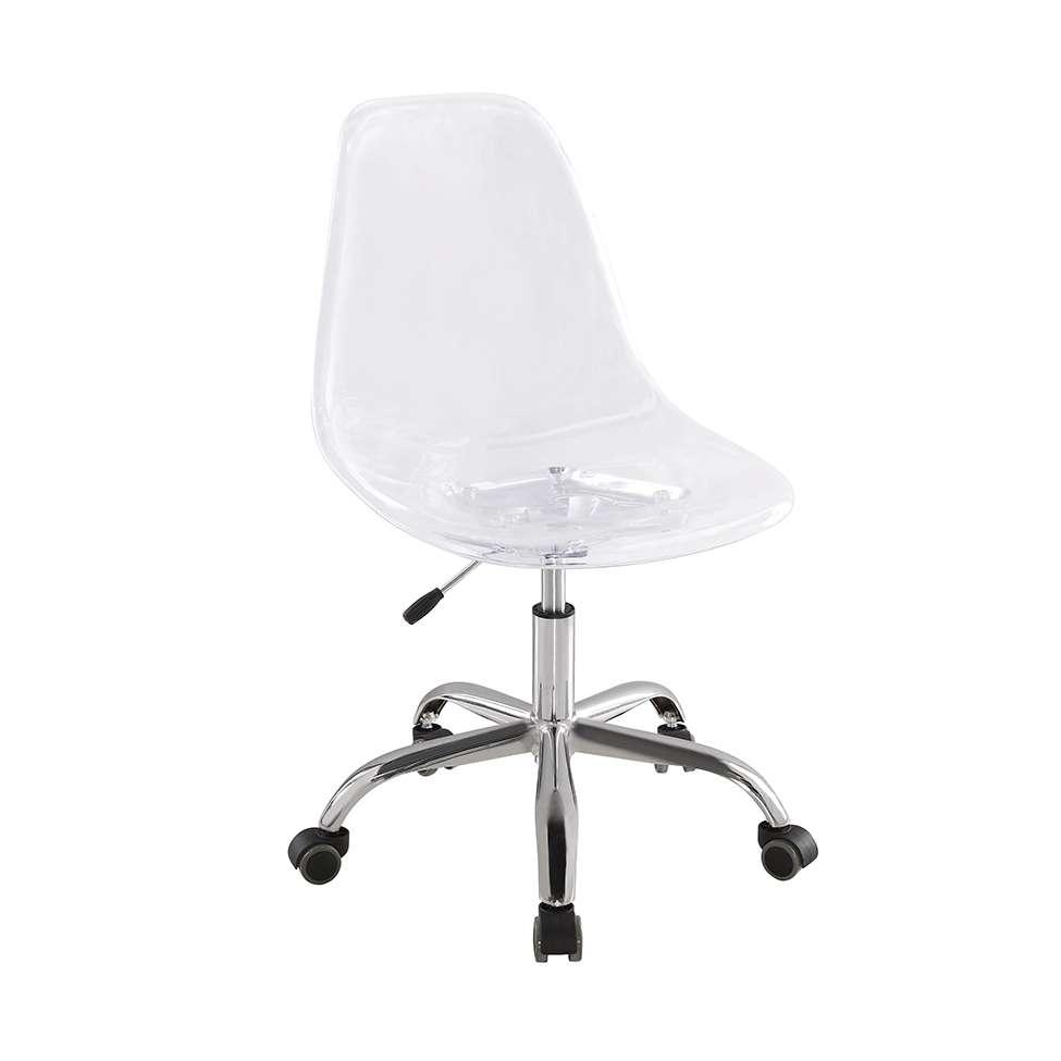 6b6e8ee8924d Cadeira de Escritório Eames Premium Transparente