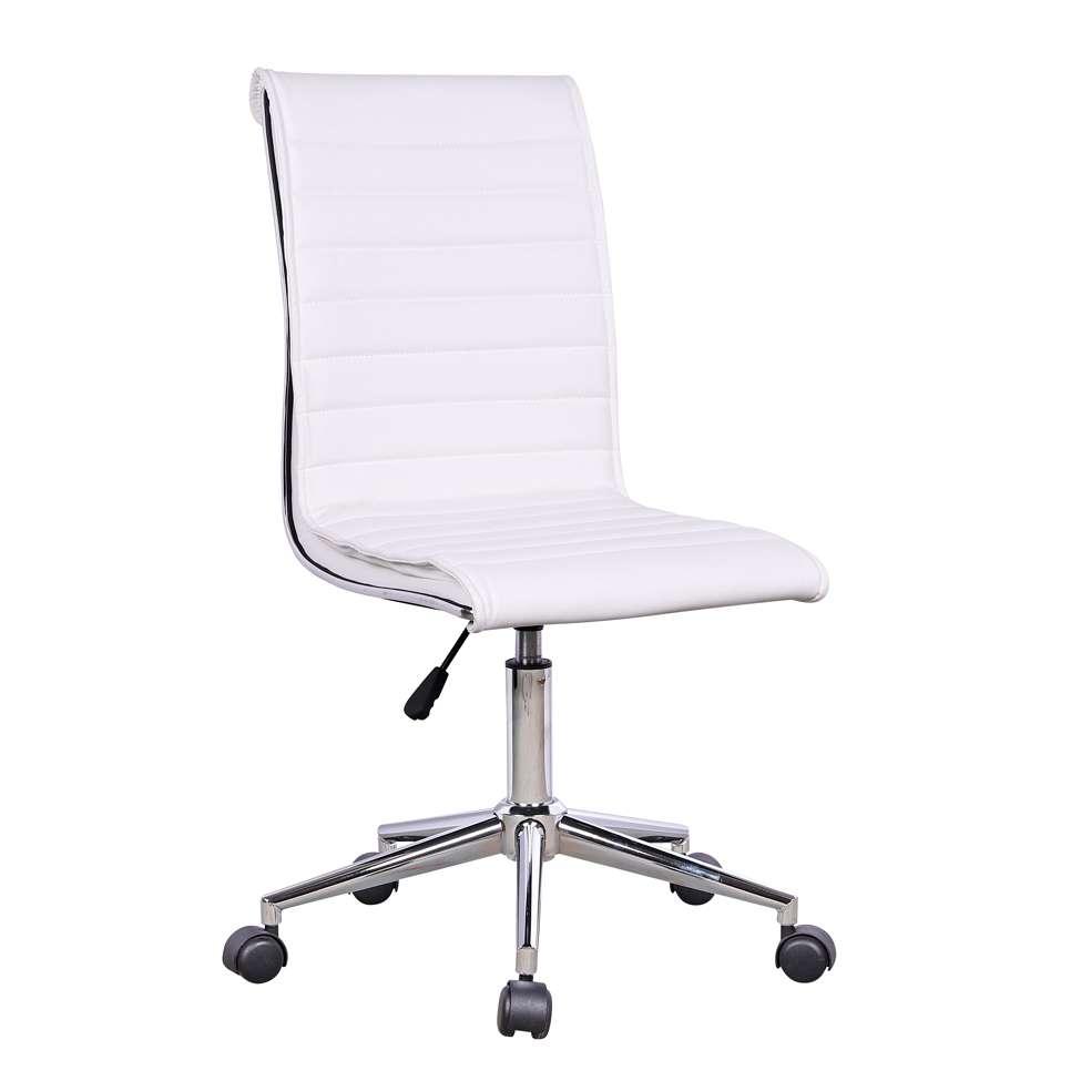 399409c75 Cadeira de Escritório Secretária Giratória Marilyn Plus Branca