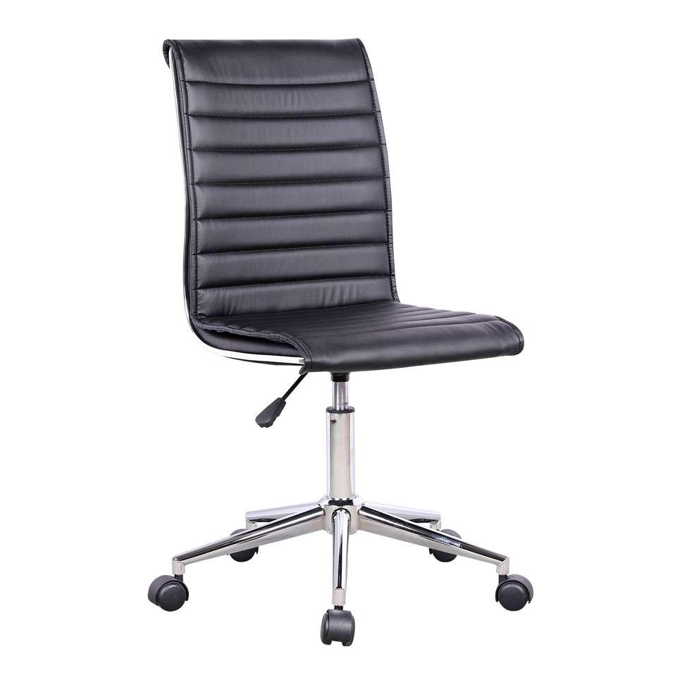 4cf0af249 Cadeira de Escritório Secretária Giratória Marilyn Plus Preta