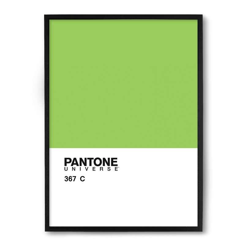 271c3f94a Quadro Nerderia Pantone Verde