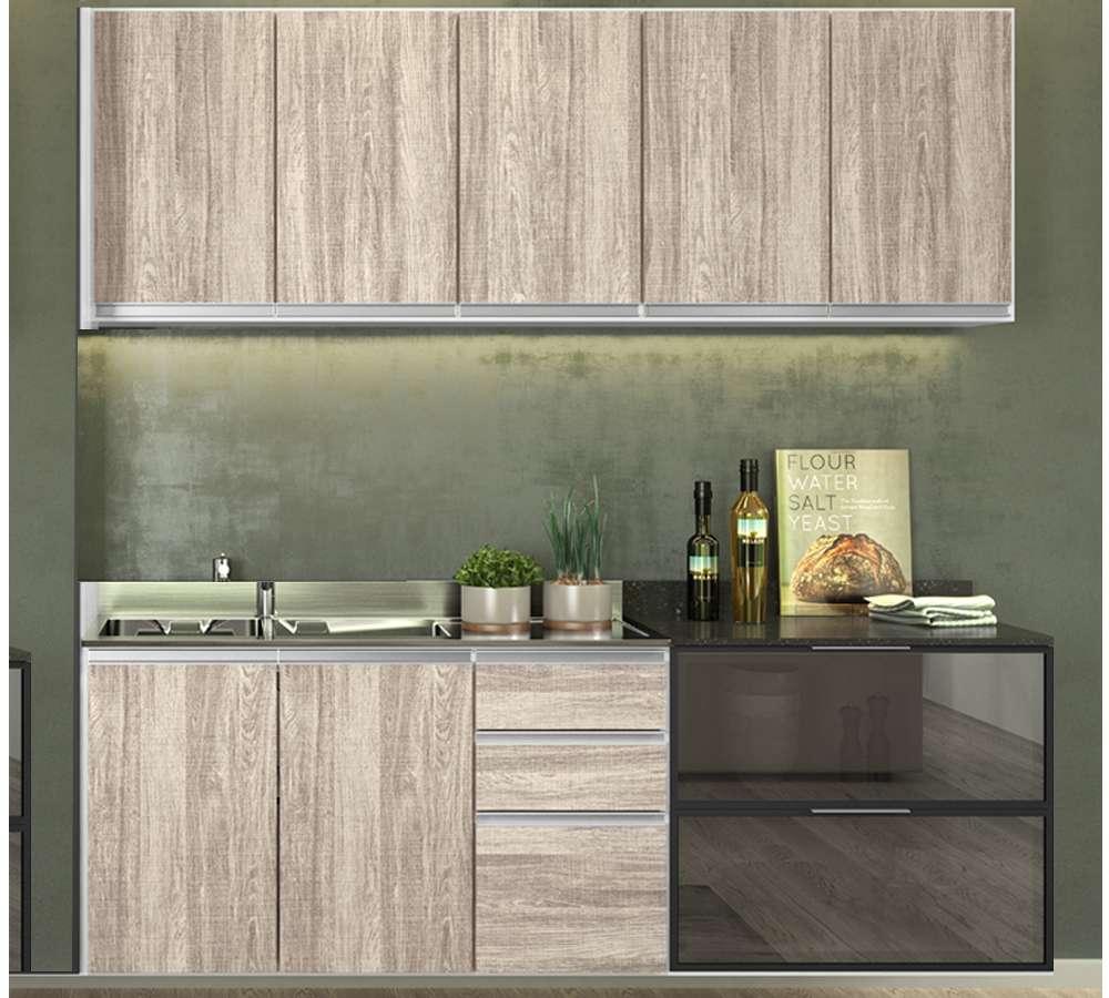 6f6720c4e Cozinha Modulada 4 Peças 100% MDF Kali Premium 704968 Branco Arezzo ...