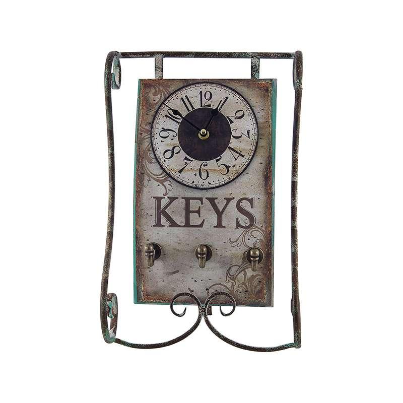 a0d4635e6ad Relógio de Mesa com Porta Chaves