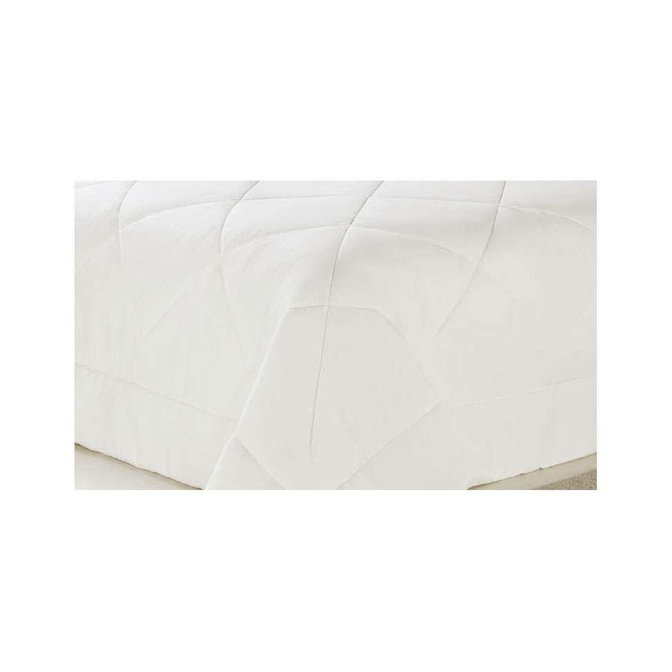 b21e40abda Edredom Fibra Casal 220X240 cm Soft Touch Plumasul 300 Fios Branco