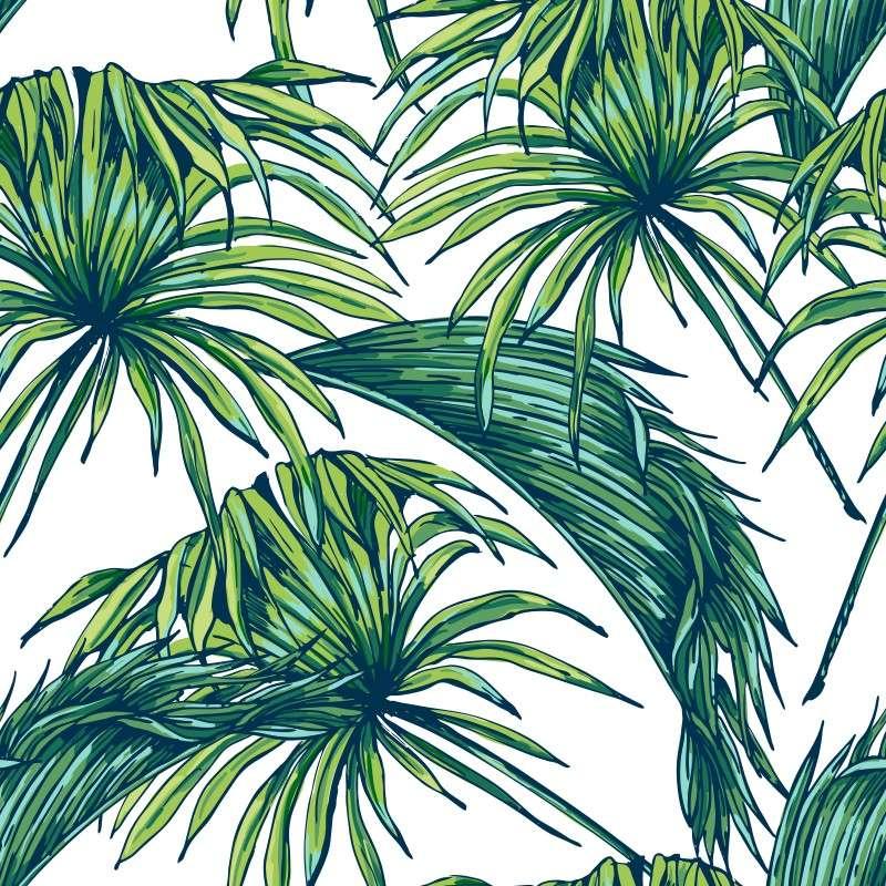 Papel de parede tropical - Papel autoadhesivo para paredes ...