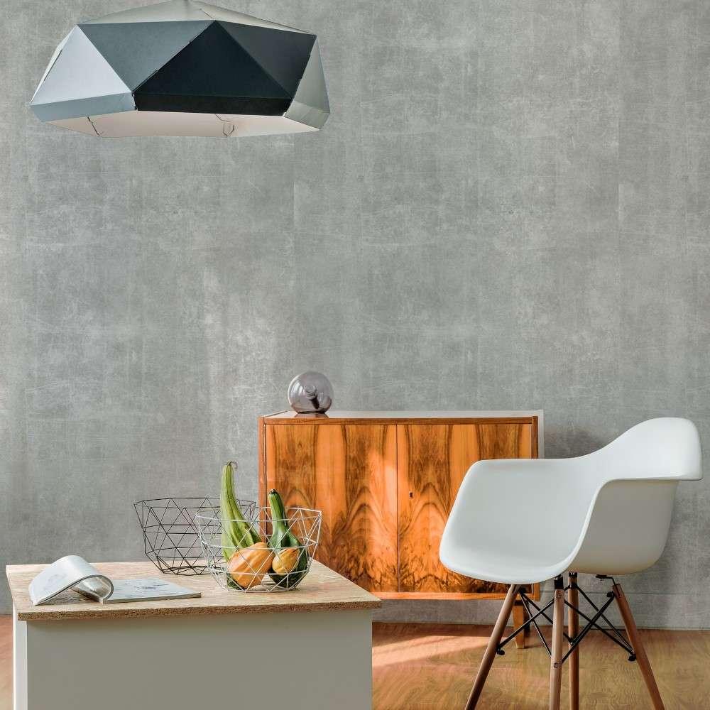 Papel de parede adesivo cimento queimado - Papel adhesivo para paredes ...