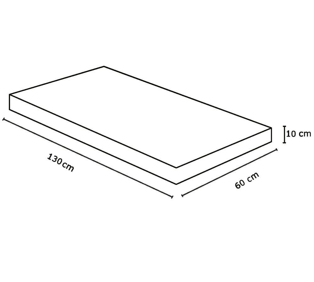 159c59e7d Colchão Para Berço Nana Nenê D18 10x60x130 Umaflex